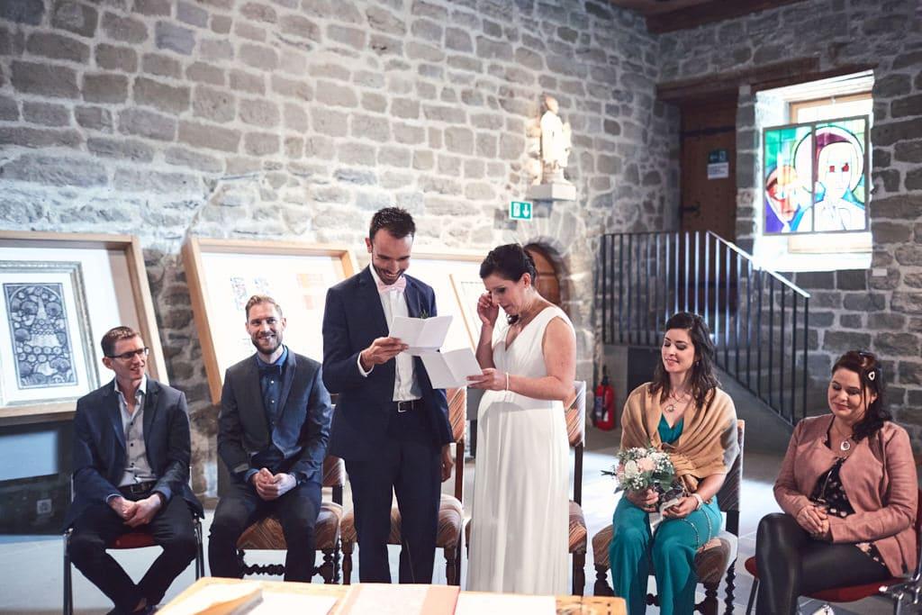 Voeux de mariage civil Romont