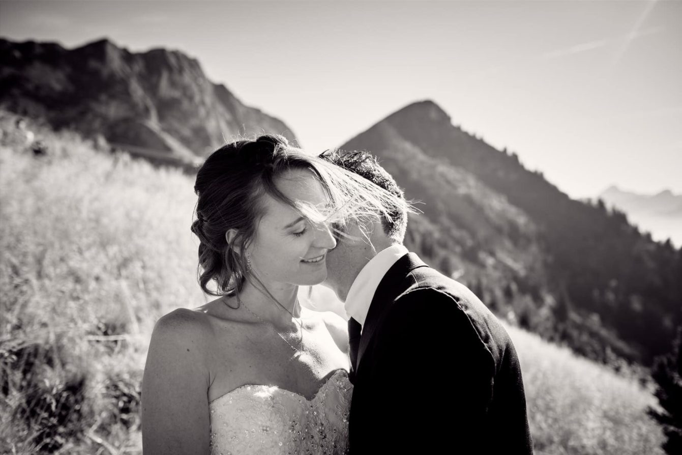 couple en montagne