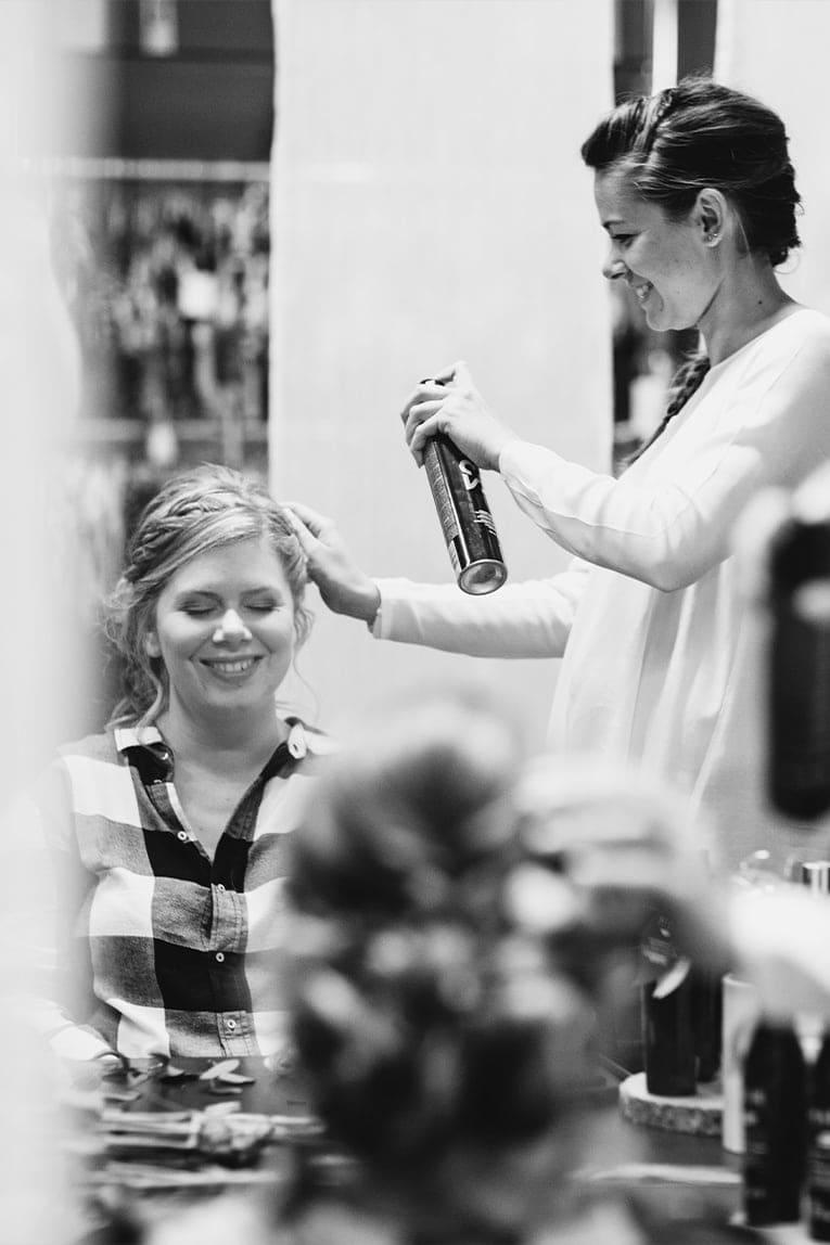 le cocon salon coiffure bulle chignon mariage