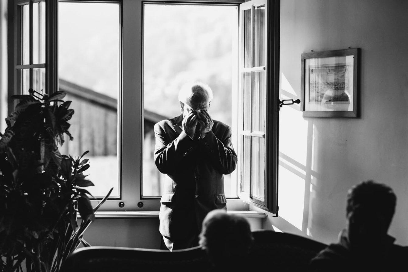 Emotions lors d'un mariage