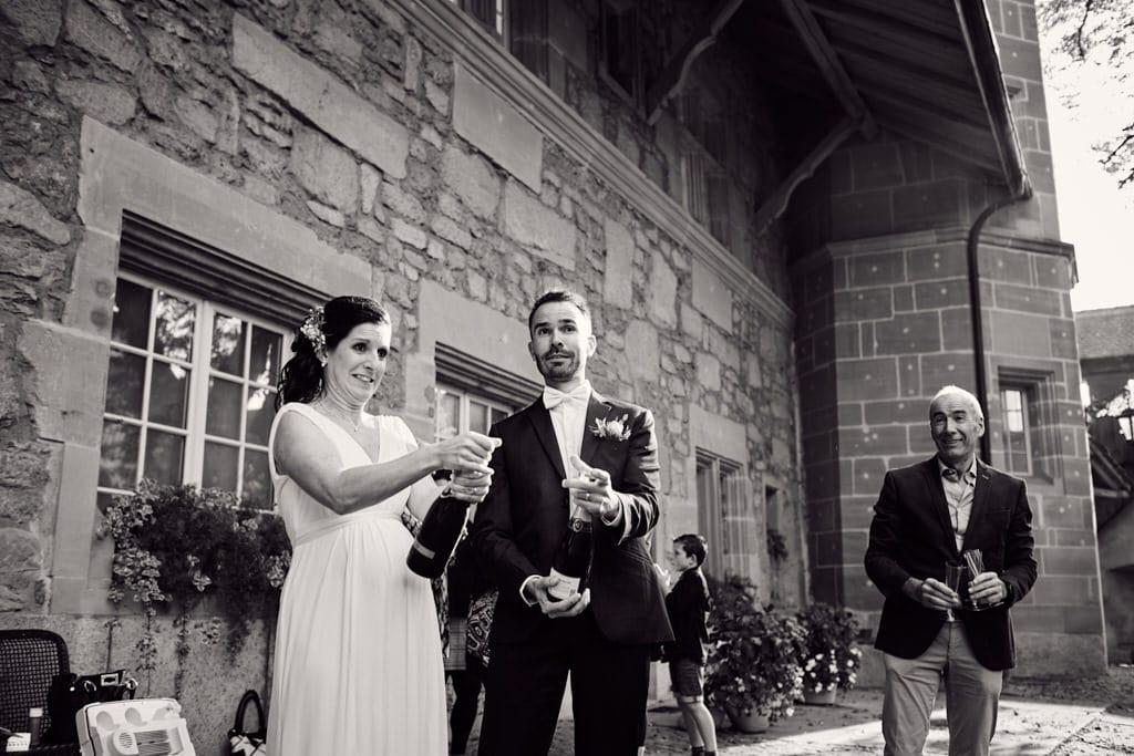 Apéro de mariage après la cérémonie
