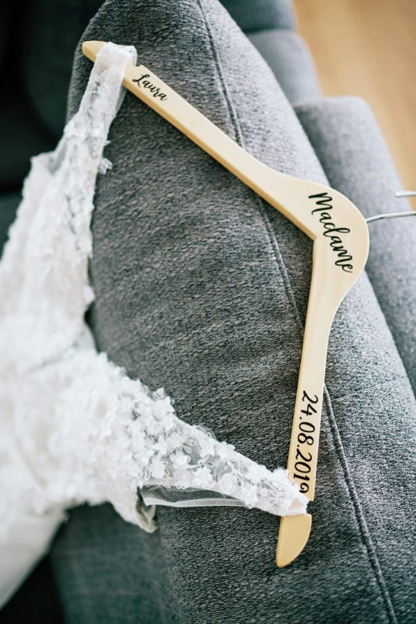 Cintre robe de mariée