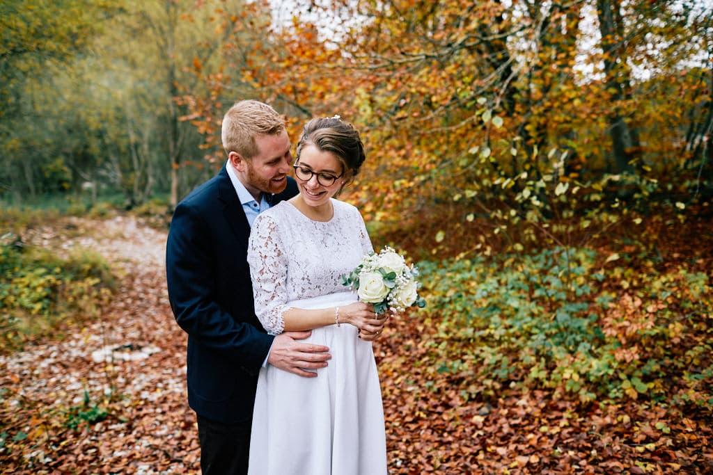 Les couleurs de l'automne sont idéals pour se marier