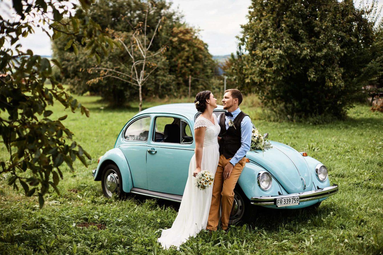 Mariage Champêtre avec coccinelle