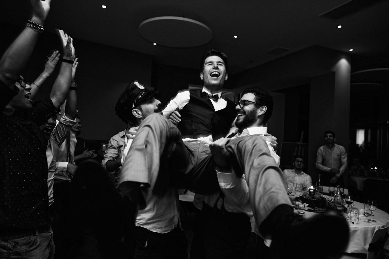 Photo d'ambiance lors de la soirée du mariage